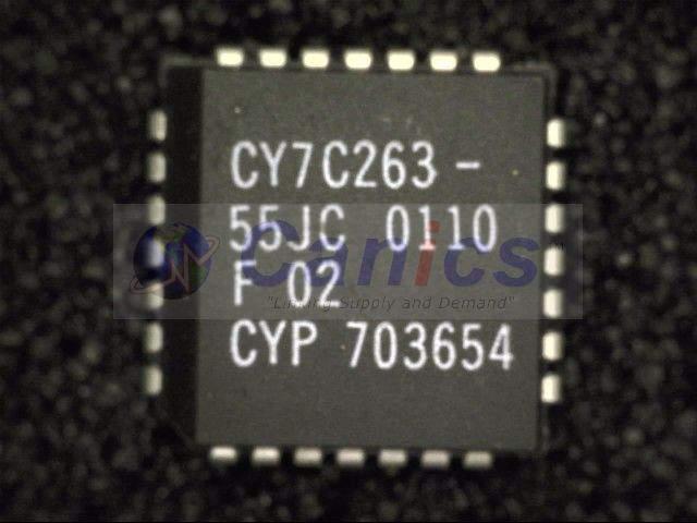 CY7C263-55JC image 1
