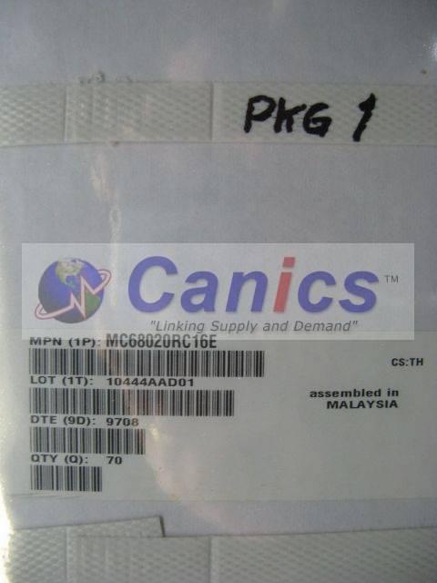 MC68020RC16E image 3