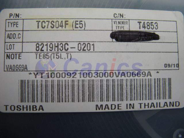 TC7S04F(E5) image 3