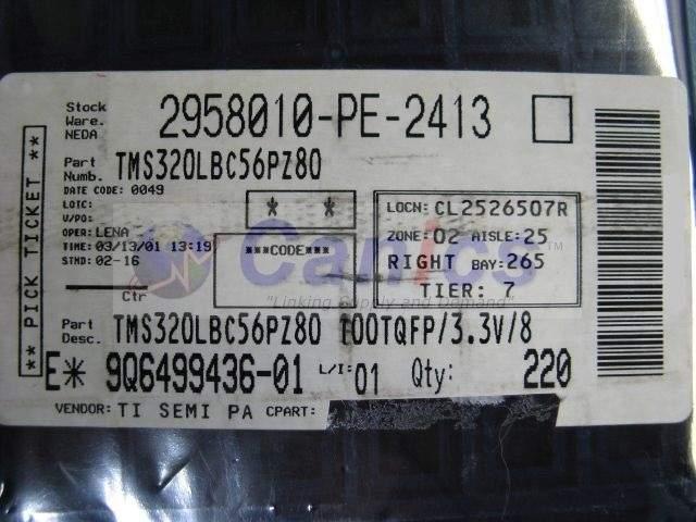 TMS320LBC56PZ-80 image 3